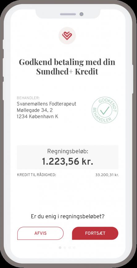 Godkend betaling mobil
